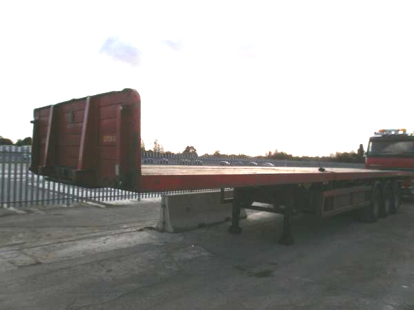 Triaxle Extendable Flatbed Trailer For Sale