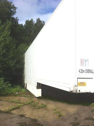 Tandem 13.6Mtr Stepframe Box Trailer For Sale