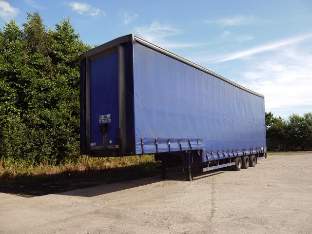 Triaxle Stepframe Double Deck Trailer For Sale