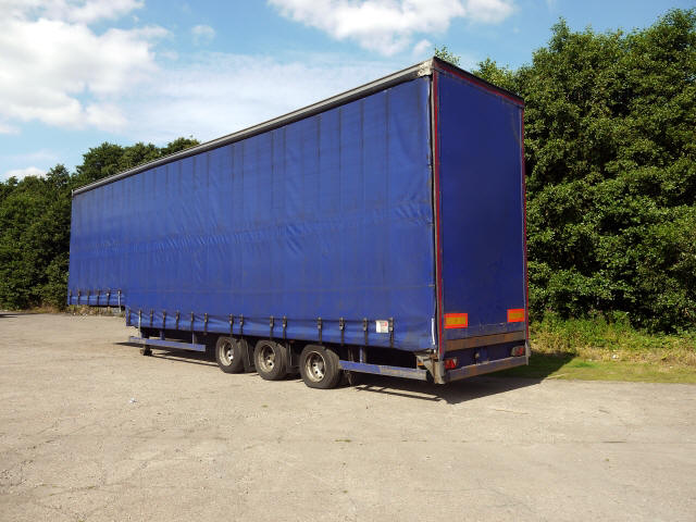 Triaxle Stepframe Double-Deck Trailer For Sale