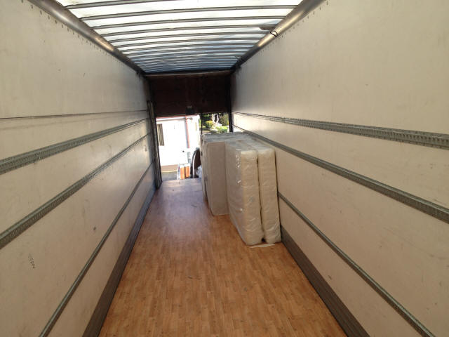 13 6mtr Tall Triaxle Dry Freight Box Trailer For Sale